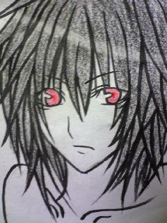 ‡黒髪赤目‡